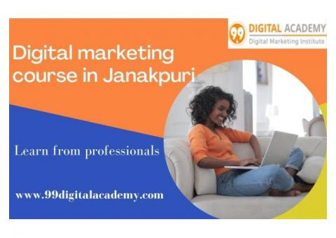 Get the best digital marketing institute in Janakpuri