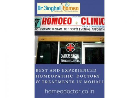 Best and Experienced Homeopathic Doctors & Treatments in Mohali
