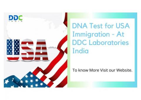 Get the best DNA Test for USA Immigration