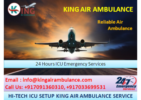 Safe Patient Transfer Air Ambulance Service in Mumbai-King Ambulance