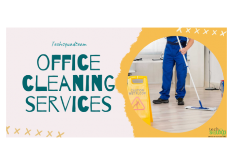 Office Cleaning Services in Hyderabad