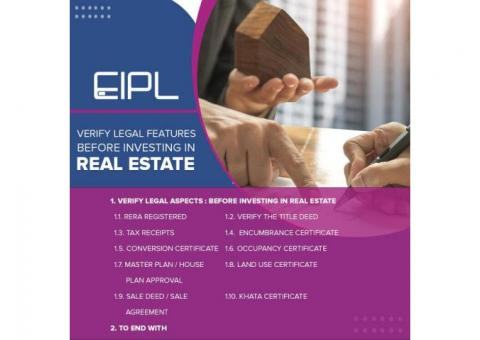 Verify Legal Features Before Investing in Real Estate | EIPL Infra