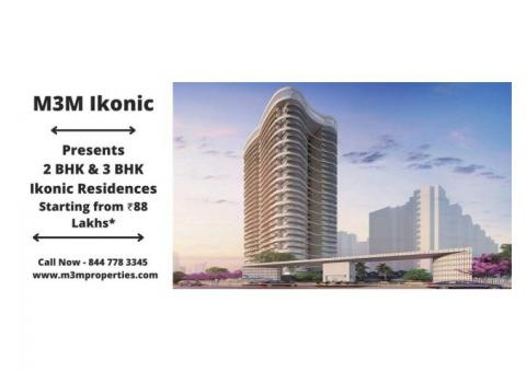 M3M Ikonic Sector 68  Gurugram - Stand Tall Rise Above The Ordinary