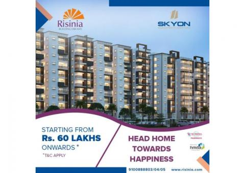 2&3BHK Gated Community Flats for Sale in Bachupally | Skyon by Risinia