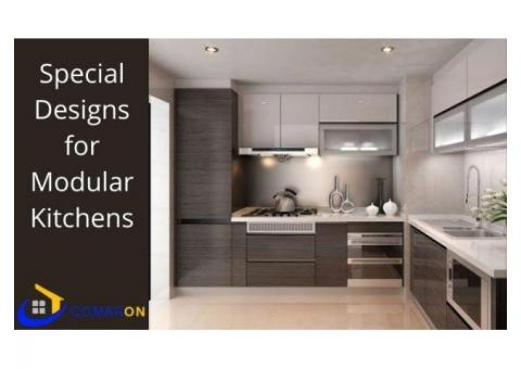 Special Designs for Modular Kitchens