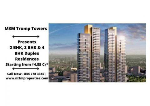 M3M Trump Towers Sector 65 Gurugram - Elevate Your Lifestyle