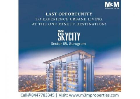 M3M Skycity Sector 65 Gurugram - Stand Tall Rise Above The Ordinary