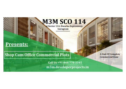 M3M 114 | Upcoming Commercial Project at Gurugram