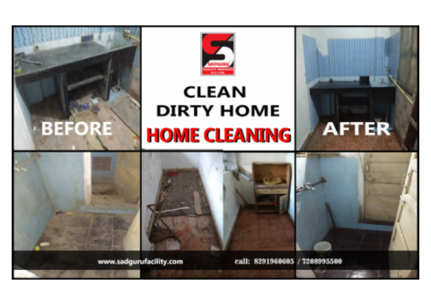 Home Deep Cleaning Services in Chakan by Sadguru Facility
