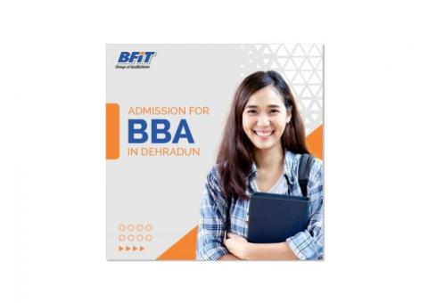 Admission for BBA in Dehradun | Best college | BFIT Groups