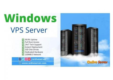 Maximize your Business with Windows VPS Server by Onlive Server