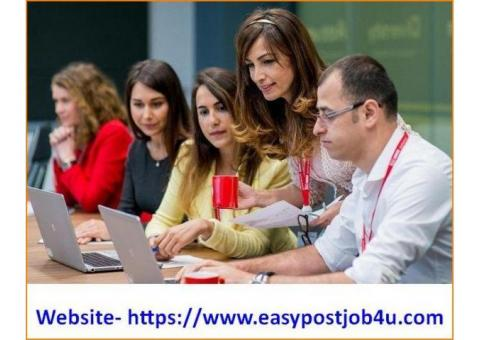 Work from home part time data entry jobs vacancy in your city