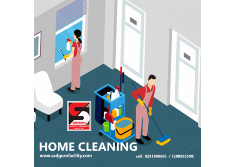 Home Deep Cleaning Services in Andheri by Sadguru Facility