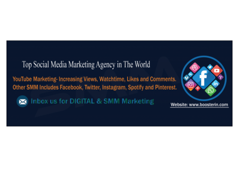 Booster India- The largest SM marketing agency