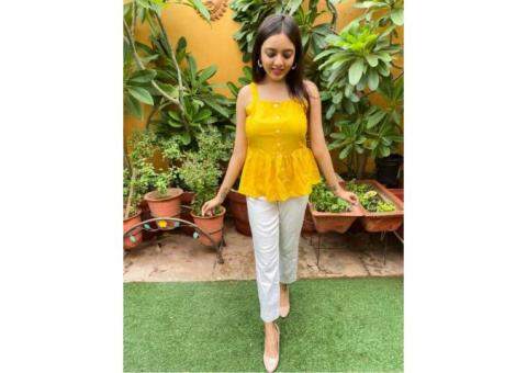 shop latest top wear for girls & womens at Parchhai