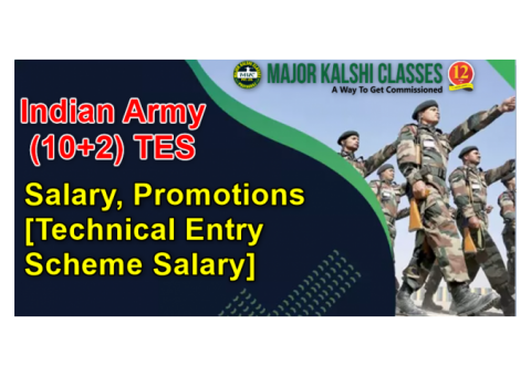 Indian Armed Forces Officers Salary and Rank | Major Kalshi Classes