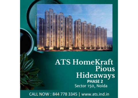 ATS Pious Hideaways Phase 2 Sector 150 Noida - Elevate Your Lifestyle