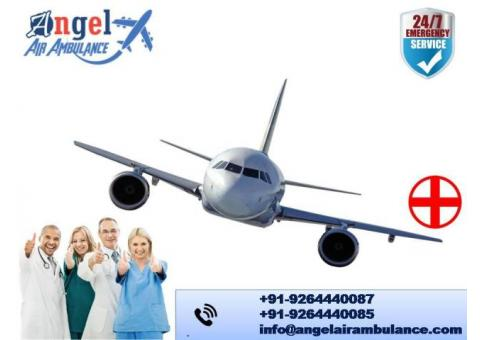 Take Secure Air and Train Ambulance Service in Allahabad