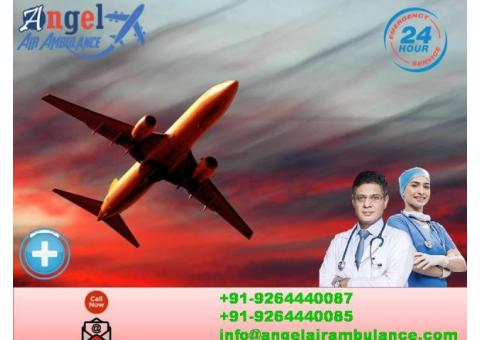 Air and Train Ambulance Service in Jamshedpur with World-Class Facilities