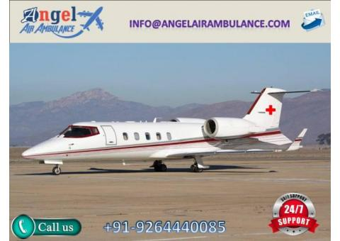 Get reliable Air Ambulance Service in Jabalpur by Angel