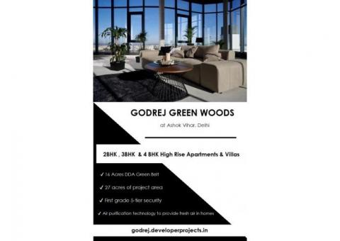 Experience Luxury Life With Godrej Green Woods Delhi