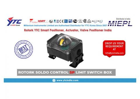 Rotork Soldo Control SP Limit Switch Box In India | YTC INDIA