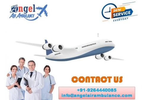Ensure Safe and Reliable Air Ambulance Service in Dibrugarh