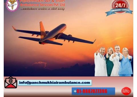 Acquire Beneficial Air Ambulance Service in Silchar with Bed-to-Bed Service