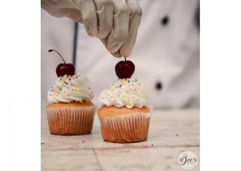 Order Online Cupcake Delivery in Ghaziabad from Dees Bake