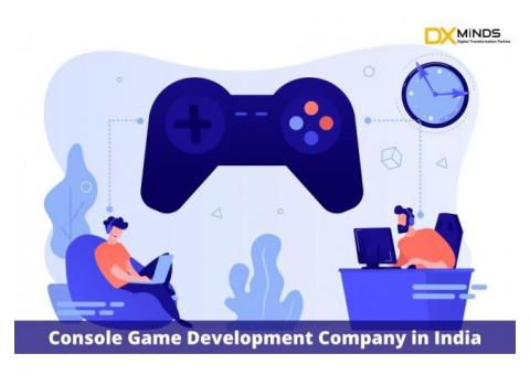Console game development in India | DxMinds