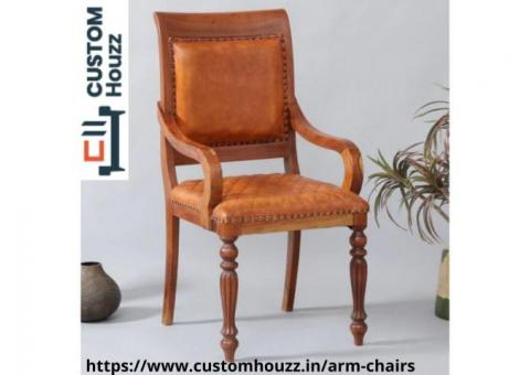Buy Wooden Arm Chairs online at Customhouzz.