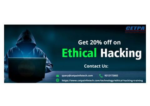 Get 20% off on Ethical Hacking