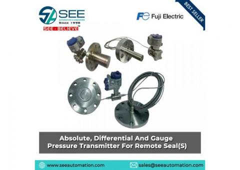 Absolute, Differential And Gauge Pressure Transmitter For Remote Seals