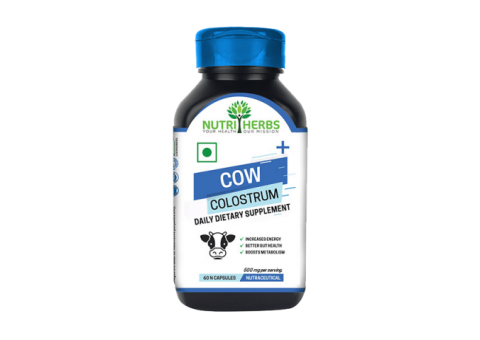 Boost Metabolism with Nutriherbs Cow Colostrum Capsules