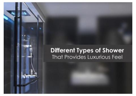 Choose the Best Showers for Bathroom